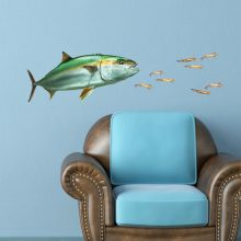 California Yellowtail Wall Sticker Set