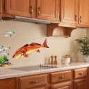 Redfish Wall Art Decal in Kitchen