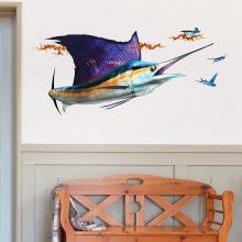 Large Sailfish Decal on Wall