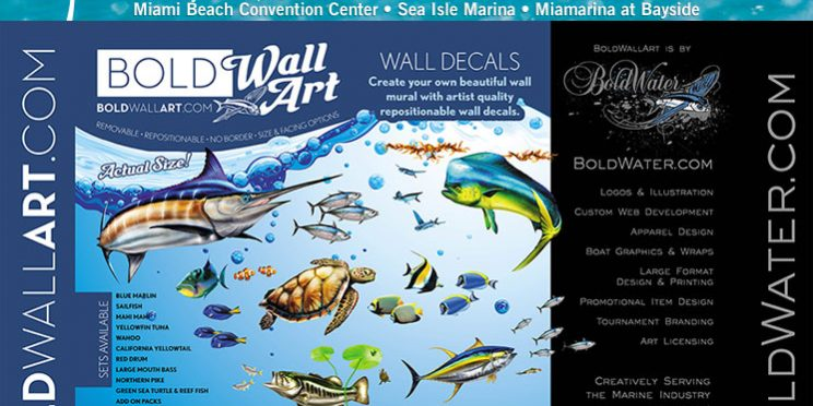 Come see us at the 2014 Miami Boat Show - Bold Wall Art