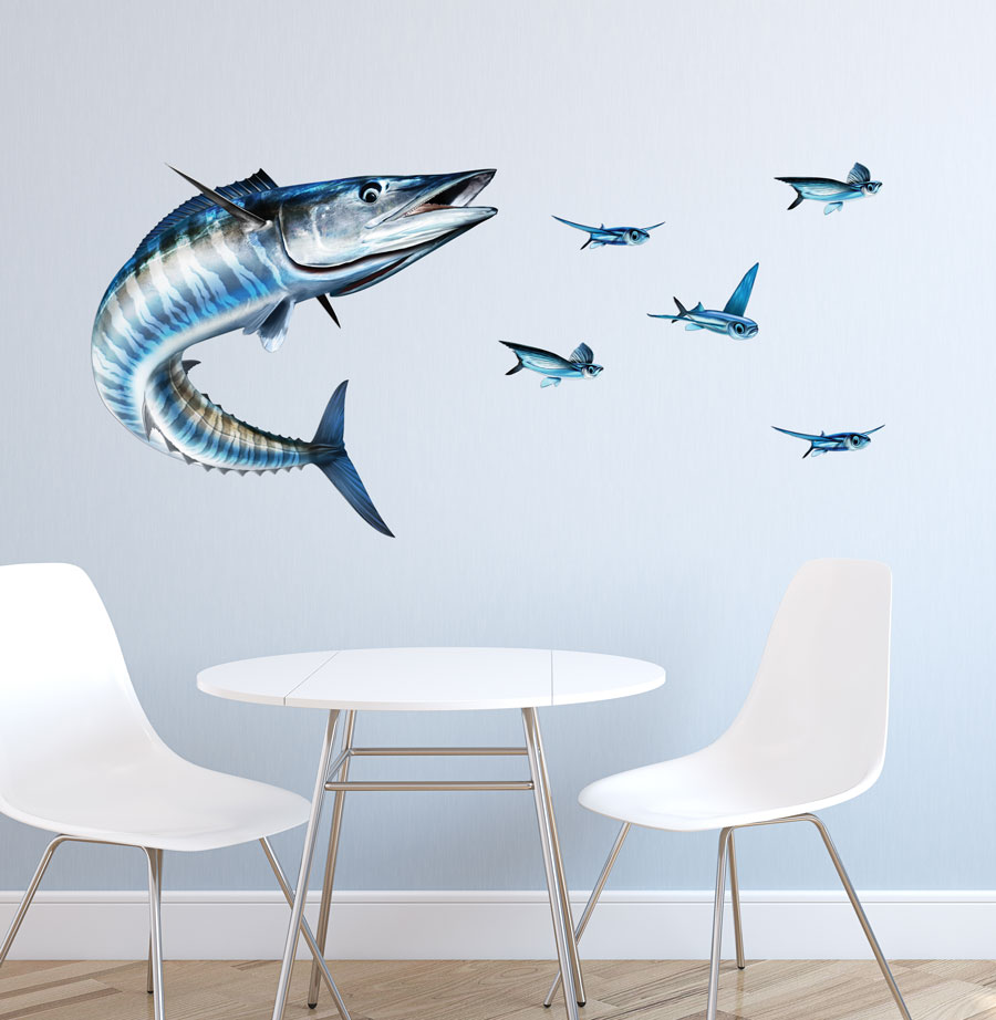 Wall Art Decals For Living Room: Wahoo Wall Decal
