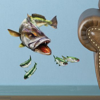 Sea Trout Removable Wall Decal